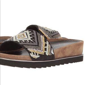 Donald J Pliner flat sandal